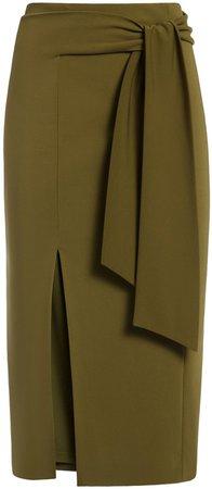 Riva Midi Skirt With Tie