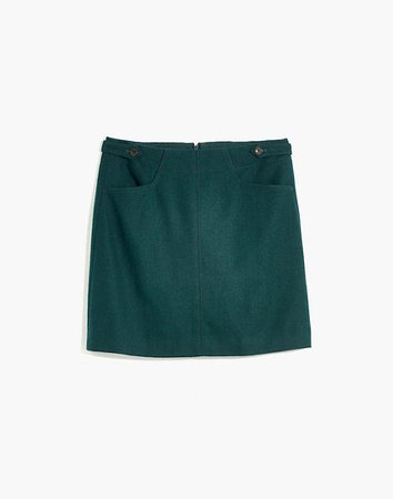 Assembly A-Line Mini Skirt