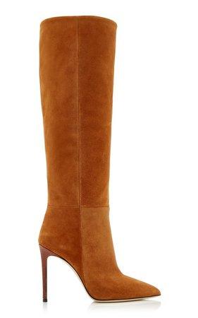 Suede Knee Boots by Paris Texas | Moda Operandi