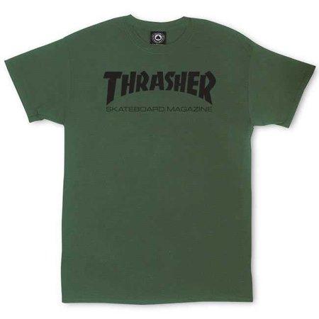 Thrasher Magazine Shop - Thrasher Skate Mag T-Shirt Army