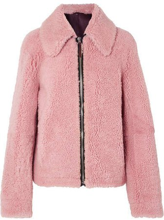 Shearling Jacket - Pink