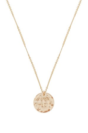 Say It Like It Is Necklace