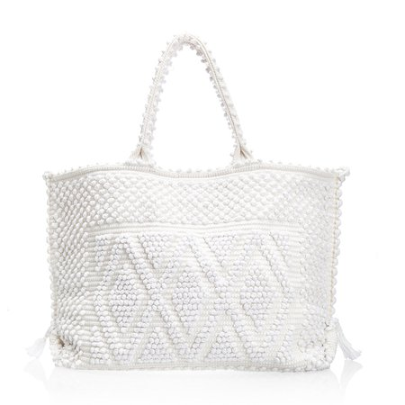 white beach bag - Google Search