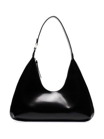 BY FAR Amber Leather Shoulder Bag - Farfetch