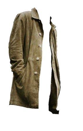 suedette coat