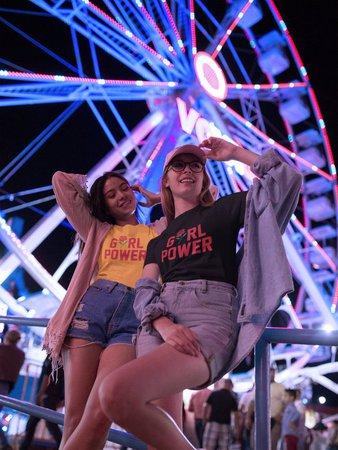 Girl Power Shirt with Rose Feminist T shirt Girl Power | Etsy
