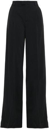 Stretch-crepe Wide-leg Pants