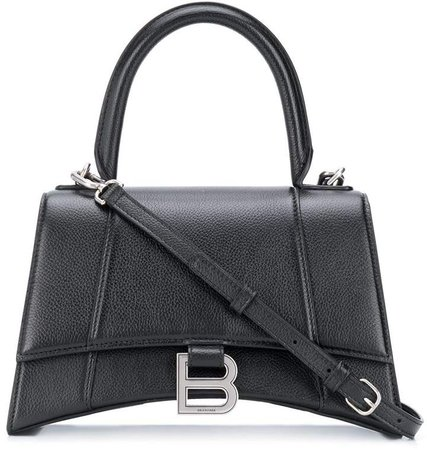 Hourglass S top-handle bag