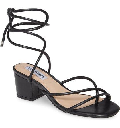 Steve Madden Impressed Lace Up Sandal (Women) | Nordstrom