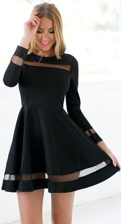 Black Homecoming Dress,Short Party Dress,Long Sleeves Tulle Formal Dress,Short Prom Dress · DestinyDress · Online Store Powered by Storenvy