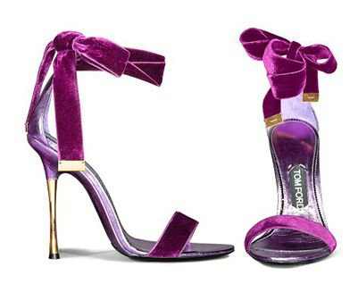 Tom Ford Sping Summer 2012 Heels - Velvet Cake!