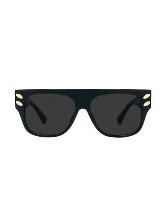 Stella McCartney 55MM Falabella Square Sunglasses   SaksFifthAvenue