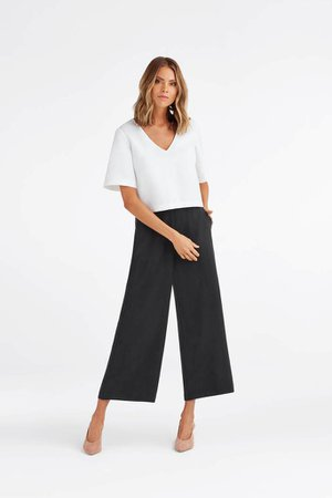 The Cropped Blouse – VETTA