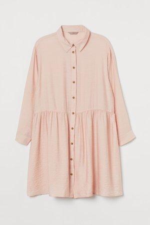 H&M+ Shirt Dress - Pink