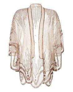 Boho Beige Kimono