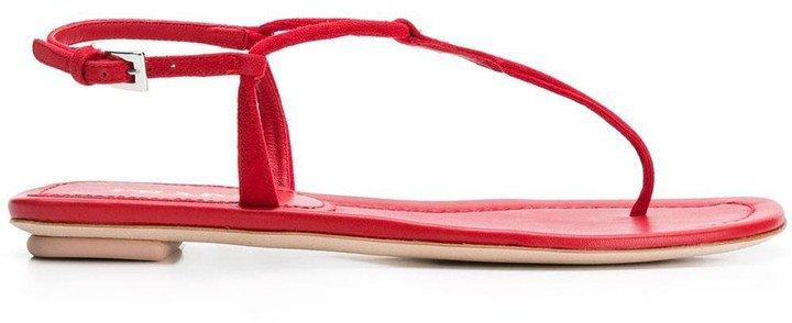 flat T-bar sandals