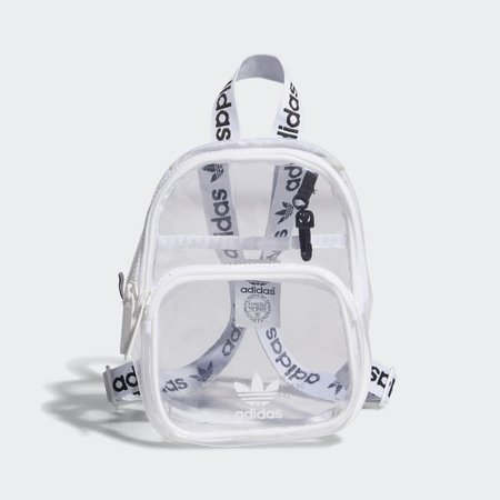 adidas Clear Mini Backpack - White | adidas US