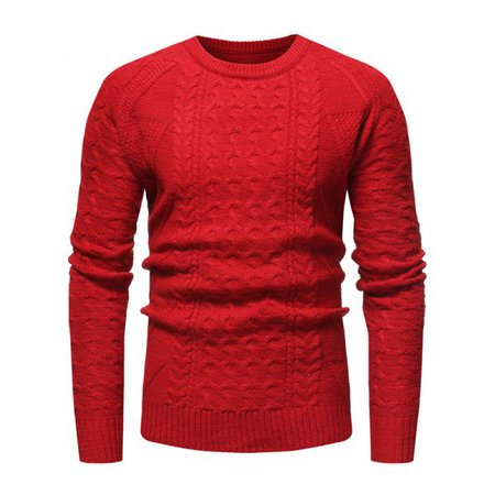 Wholesale Jacquard Weave Whole Colored Knitted Sweater Xs Red Online. Cheap Colored Shirt And Colored Tank on Rosewholesale.com