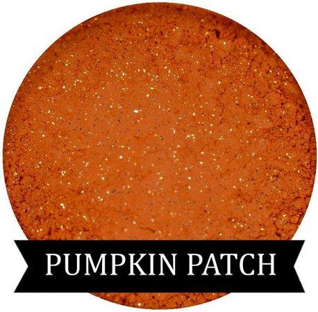 PUMPKIN PATCH Orange Eyeshadow Fall Halloween Collection   Etsy