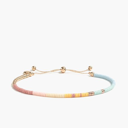 J.Crew Factory: Acrylic Bead Stackable Bracelet For Women