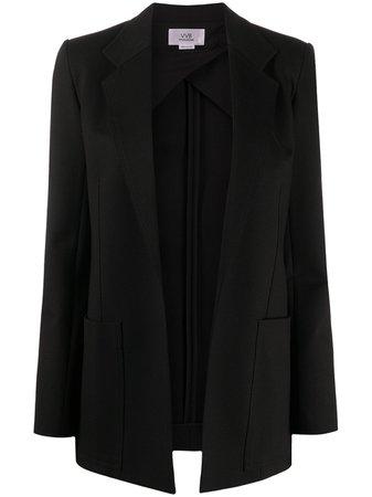 Victoria Victoria Beckham open-front blazer - FARFETCH