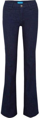 Marrakesh High-rise Bootcut Jeans - Dark denim