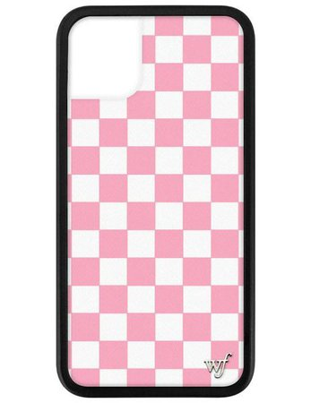 Pink Checkers iPhone 11 Case – Wildflower Cases