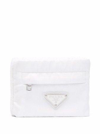Prada knitted pouch wallet - FARFETCH