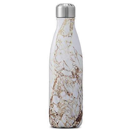 Amazon.com: S'well Vacuum Insulated Stainless Steel Water Bottle, 17 oz, Calacatta Gold: Gateway