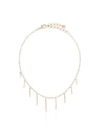 Shay 18kt Rose Gold Diamond Infinity Choker - Farfetch