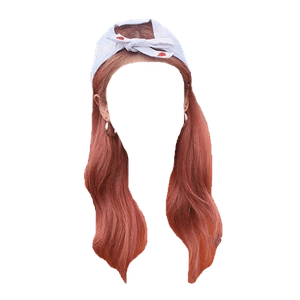 red hair png