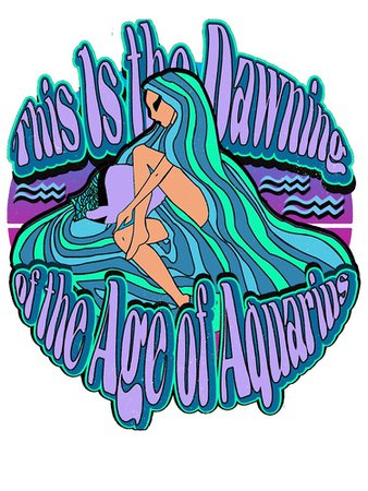 """""""Age of Aquarius"""" Poster by Phuctinh 