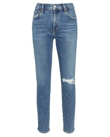 AGOLDE Nico High-Rise Skinny Jeans | INTERMIX®