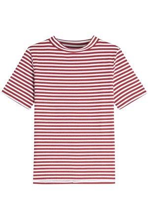 Penny Striped Cotton T-shirt Gr. M
