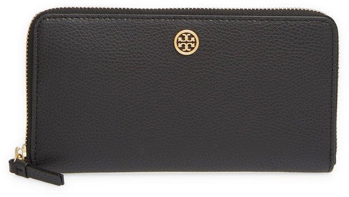 Walker Leather Continental Zip Wallet