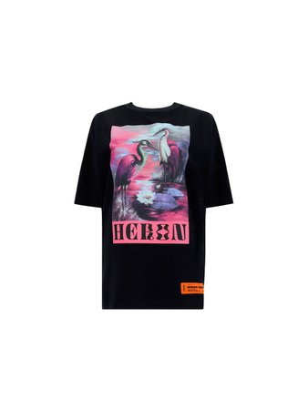 HERON PRESTON Short Sleeve T-Shirts | italist, ALWAYS LIKE A SALE