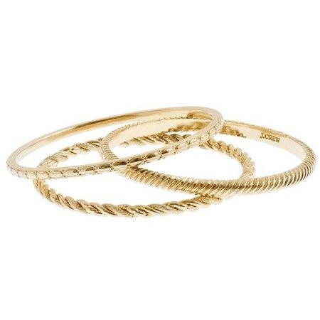 GOLD bracelets polyvore - Google Search