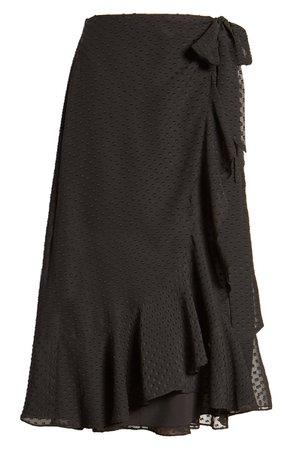 Ali & Jay Mai Tai Wrap Skirt black