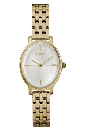 Timex® Milano Oval Bracelet Watch, 24mm | Nordstrom
