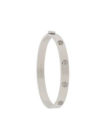 Shop Tory Burch logo detail bracelet with Express Delivery - FARFETCH