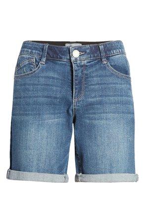 Wit & Wisdom Ab-Solution White Denim Shorts (Regular & Petite) (Nordstrom Exclusive) | Nordstrom