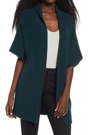 Leith Open Front Dolman Sleeve Cardigan | Nordstrom