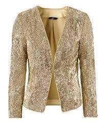 gold sparkly blazer