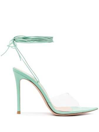 Gianvito Rossi ankle tie-fastening sandals - FARFETCH