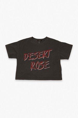 Desert Rose Cropped Tee | Forever 21