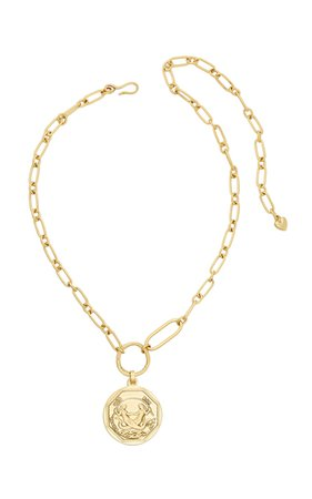 Westerly Gold-Plated Brass Pendant Necklace by Jennifer Behr | Moda Operandi