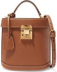MARK CROSS Benchley grained-leather shoulder bag