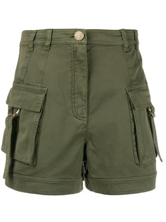 Balmain Utility Pockets Shorts - Farfetch