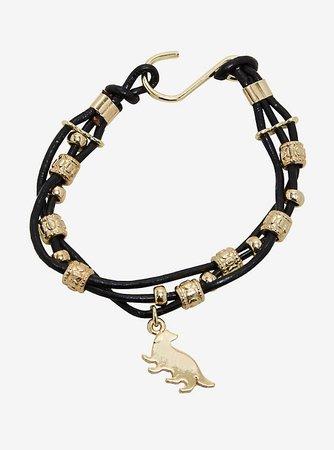 Harry Potter Hufflepuff Cord Bracelet