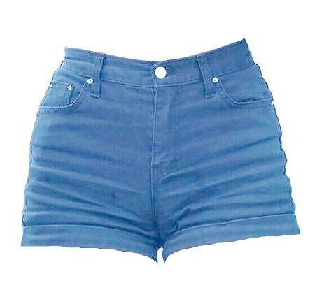 denim shorts png